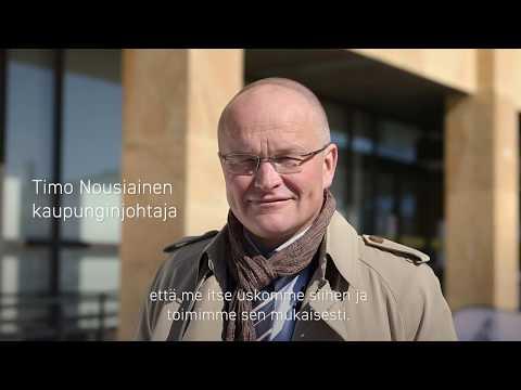 Kaupunginjohtaja Timo Nousiainen kertoo, miksi Tornio tahtoo uudistaa kaupunkibrändinsä ja…