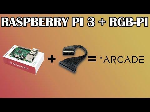 raspberry pi 3 + RGB-PI para jugar arcade