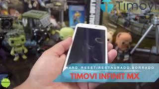 TIMOVI INFINIT MX Hard Reset/Quitar Contraseña