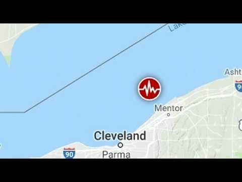 Third Earthquake Strikes Under Lake Erie Near Cleveland In Ohio