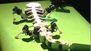 ''skelo-reptile'' robot creature
