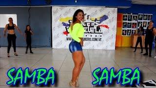 Tutorial Samba | Como Bailar Samba | Clases De Samba - Por Endrina Flores