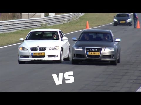Alpina B3 Biturbo Coupe vs Audi RS6 Avant C6