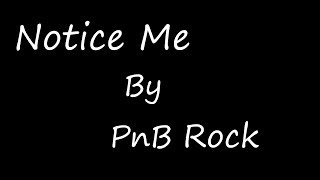 Notice Me by PnB Rock (Shaun V. Cover)