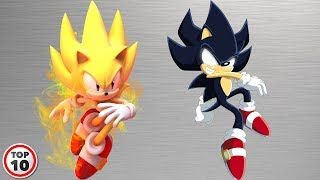 Top 10 Sonic Forms