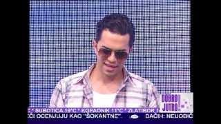 Adil - Ne dizi ruku na nas JUTARNJI PROGRAM TV PINK * Minja & Vlada 2013