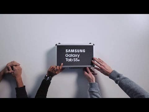 Galaxy Tab S5e: Official Introduction