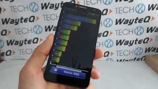 Alcatel One Touch Idol 2S Quadrant benchmark video | Tech2.hu