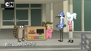 Eileen Wins a TV I Regular Show I Cartoon Network