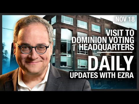 DAILY | Visit to Dominion Voting HQ in Toronto, Manitoba Snitch Line