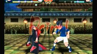 Naruto Clash Of Ninja Revolution 2-Sasuke vs Itachi