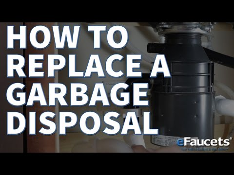 Replace a Garbage Disposal - How To's - eFaucets.com