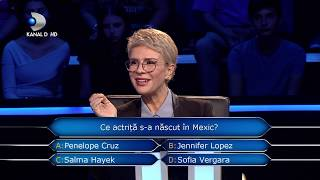 Vrei sa fii milionar? (11.12.2018) - Graba strica treaba! Ce raspuns a dat concurenta?