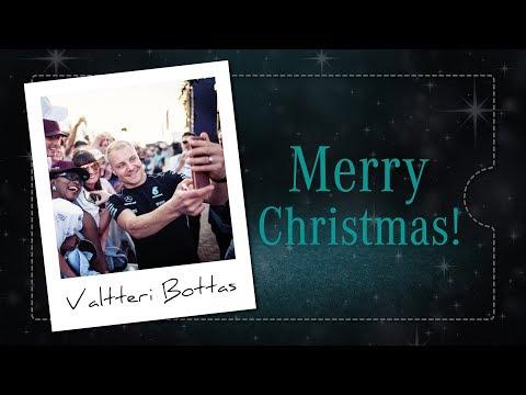 Merry Christmas from Valtteri Bottas!