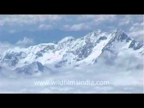 Kanchenjunga from 35, 000 feet in the air!