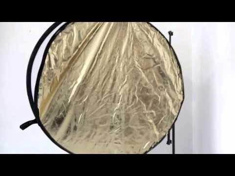 Falt-Reflektor Quenox 5in1 - by www.enjoyyourcamera.com