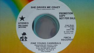 Fine Young Cannibals   She Drives Me Crazy  45rpm
