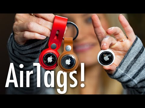 AirTags Unboxing and Review!