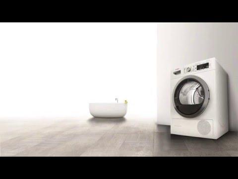 Hvordan tømmer jeg kondensbeholderen i tørketrommelen?