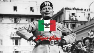 """Faşist İtalya Milli Marşı - Anthem of Fascist Italy """"Giovinezza"""""""