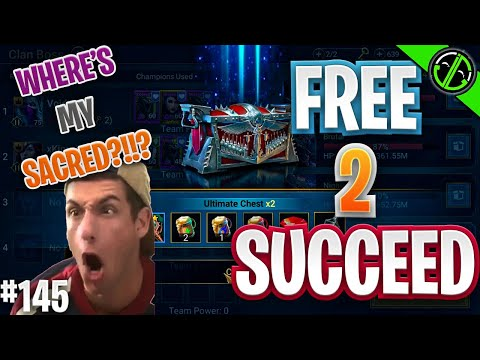 You Know I Like Sacreds Why Can't You JUST GIVE ME A SACRED!!! | Free 2 Succeed - EPISODE 145