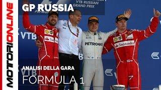 F1 GP Russia 2017: Analisi della gara