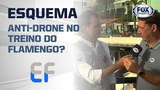 ESQUEMA ANTI-DRONE NO TREINO DO FLAMENGO? Informações direto de Lima