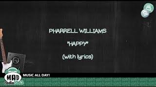 "Pharrell Williams ""Happy"" (with lyrics)"