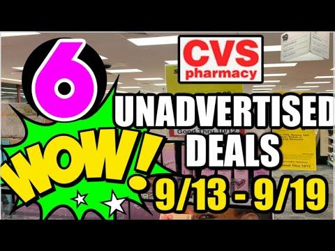 6 CVS UNADVERTISED DEALS (9/13 - 9/19) | MUST SEE NEW DEALS & FREEBIE!!!