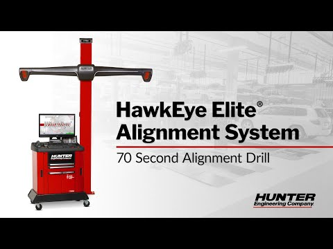 70 Second Alignment Drill - Hunter Engineering