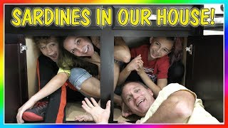 SARDINES IN OUR HOUSE! | HIDE AND SEEK | We Are The Davises