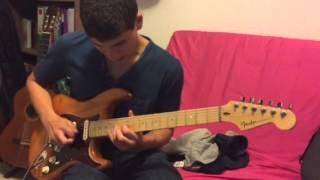 Oz ilan -C#m jazz fusion solo style Mike Stern