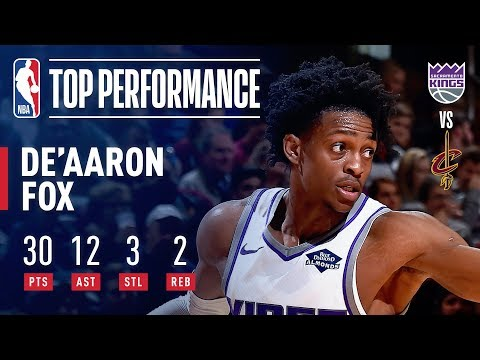 De'Aaron Fox Fuels The Kings W In Cleveland With 30 Points and 12 Assists! | December 7, 2018