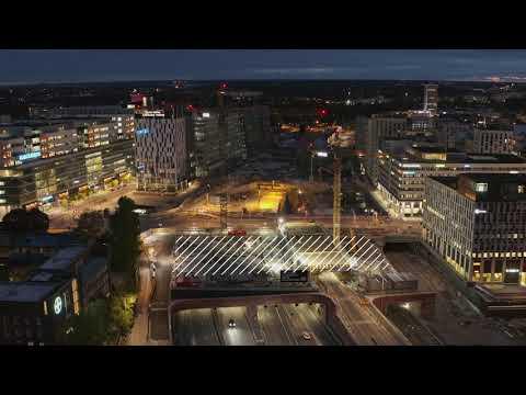 Life City, Atrium Ljungberg, finalist i kategorin Årets BREEAM-byggnad 2020.