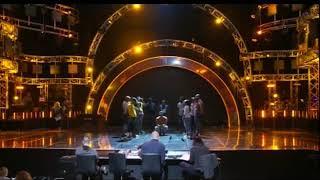 Keegan Martin IDOLS SA rehearsal, Performs Nguwe by Ntando
