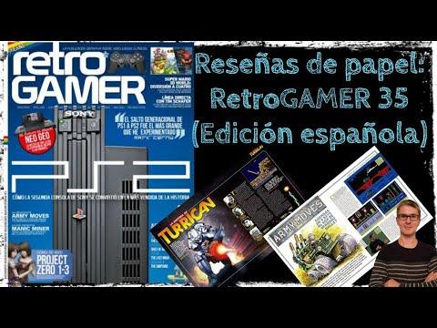 Reseñas de papel: RetroGAMER 35 (Edición Española)