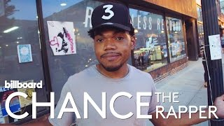 Chance The Rapper: Record Store Raid & Free Vinyl Giveaway! | Billboard Cover Shoot