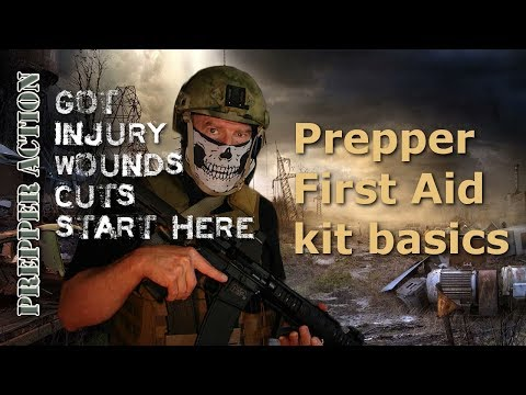 First Aid Kit Basics for preppers