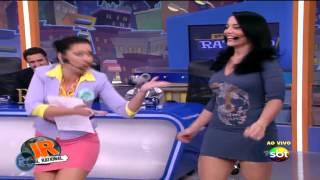 Milene Pavoro Rap Na Veia (SBT)