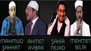 Mahmud Şahhat Mehmet Bilir Ahmet Aybar Hamid Şakir Nejat Aynı Ayeti Aynı Makamda Okuyor Efsane Makta