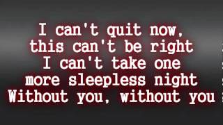 David Guetta - Without You LYRICS ft. Usher
