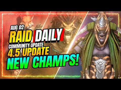 🆕MORE New Champs?! WEEKLY KICKOFF! | RAID Shadow Legends