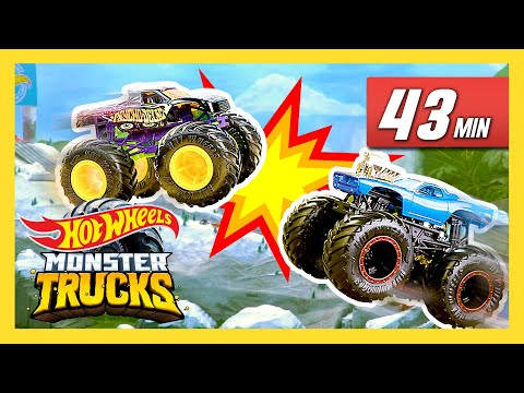 Ultimate Island Race Day | Monster Trucks | Hot Wheels