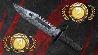 M9 Bayonet   Damascus Steel Unboxing