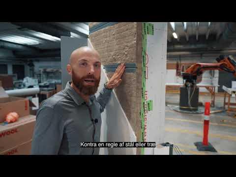 Rockzero: Teknisk gennemgang af vægopbygningen indefra