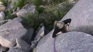 Escalada en Galicia, Olimpo Celta, sector Caja de los Truenos