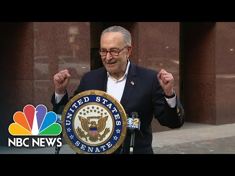 Sen. Schumer: 'With Joe Biden As President, There Is Real Hope in America' | NBC News