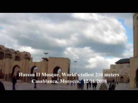 Charles Liu Videos: Brilliance of the Seas: Part 07A: Casablanca, Morocco: 2008-12-16