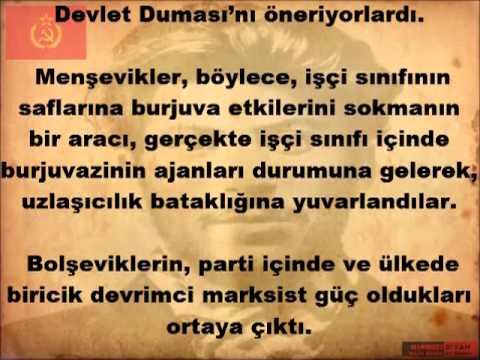 BOLŞEVİK PARTİSİ TARİHİ -3. BÖLÜM