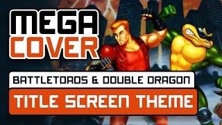 Battletoads & Double Dragon Main Theme (Title Screen) - Guitar cover